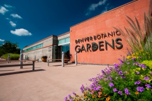 Entrance at the Denver Botanic Gardens