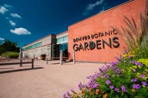 Entrance at the Denver Botanic Gardens