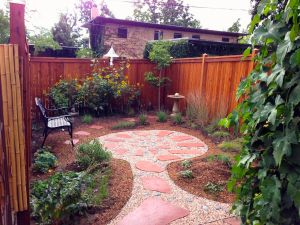 A brand-new habitat garden replaces a postage-stamp-sized patch of lawn. Photo courtesy of Crystal Reser.