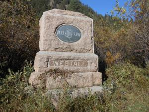 A group of middle school students are preserving the monument, located on Denver Water property, which was erected to honor train engineer Billy Westall more than a century ago.
