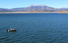 Antero Reservoir was built more than a century ago by Antero & Lost Park Reservoir Company.  Denver Water bought the reservoir in 1925.