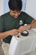 In 2013, Water Conservation Program crews conducted 2,800 water audits and replaced 1,900 toilets.