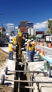In 2014, Denver Water is scheduled to replace and rehabilitate 20 miles of pipe in the metro area.