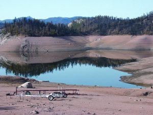 Denver Water's Cheesman Reservoir during the 2002 drought. Colorado is all too familiar with the kind of drought California is experiencing right now.