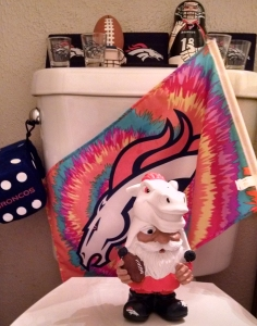 Denver's water use, presumably in the bathroom, increased by 35 million gallons during halftime of the AFC Championship game between the Broncos and Patriots.