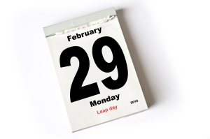 calendar sheet February 2016