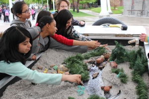 Denver-area sixth graders have some hands-on fun at the 2015 Denver Metro Water Festival.