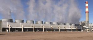 Xcel Energy uses recycled water for its cooling towers at the Cherokee Power Plant in Commerce City.