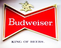 "Budweiser, the self-dubbed ""King of Beers,"" is one of countless brands to stretch reality to make a marketing impact. Photo credit: Thomas Hawk, Flickr Creative Commons"