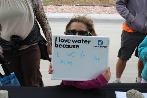 """I love water because I love to 'drek' water!"" Couldn't have said it better myself."