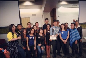 """On April 7, 2016, """"The Caring Cowboys"""" of West Campus took home the Challenge 5280 prize for sustainability."""