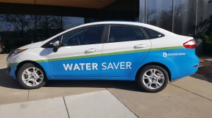 A 2016 Water Saver vehicle.