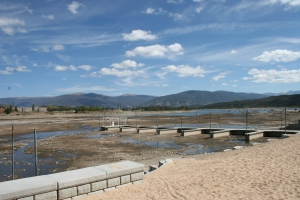 Frisco Marina in Sept. 2012, shows the impact of drought and demand on Dillon Reservoir.