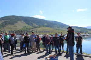 Hydro Operator Rick Geise shares the importance of Dillon Reservoir to our water supply and the vital partnerships Denver Water maintains in the community.