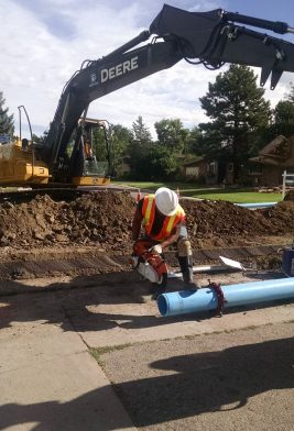 Denver Water crews proactively install or replace an average of 60,000 feet of pipe throughout our service area per year. About $11 million will go to main replacement and main improvement in 2016 and $130 million will be invested in main replacements over the next 10 years.